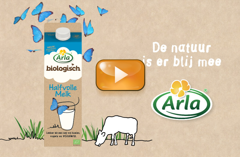 Freelance Animator voor commercial Arla